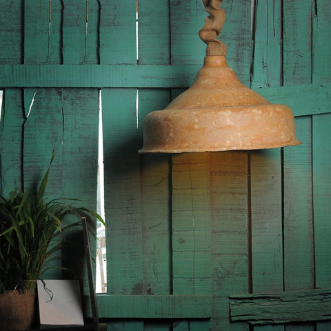 Earthen Pendant Lamp