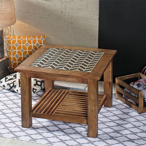 Sameul Square End Table