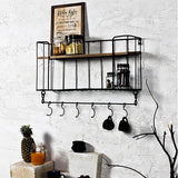 Casa industrial wall shelf
