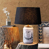 Casey Smoke Table Lamp