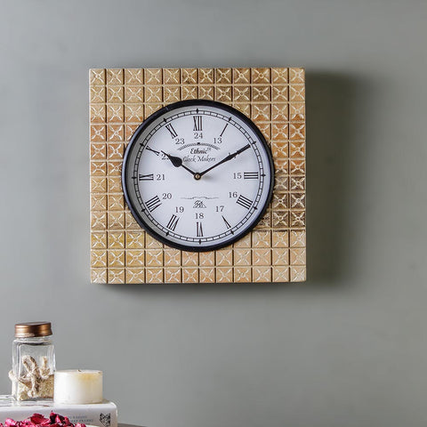 Armor 11 Square Wall Clock