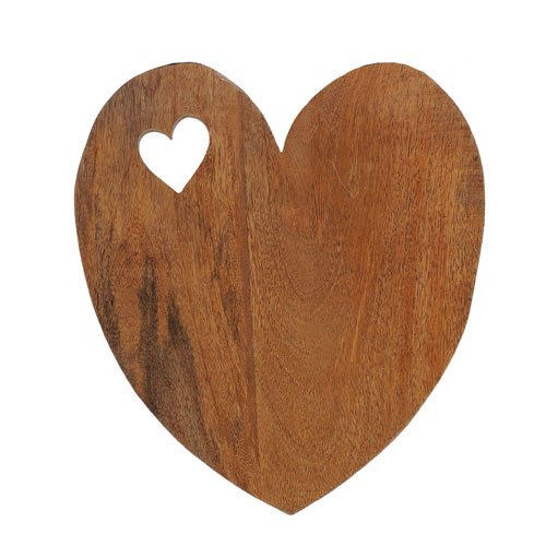Valentine Mango Wood Serving Plank Set of 2 4