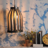 Sheet Silver Pendant Lamp