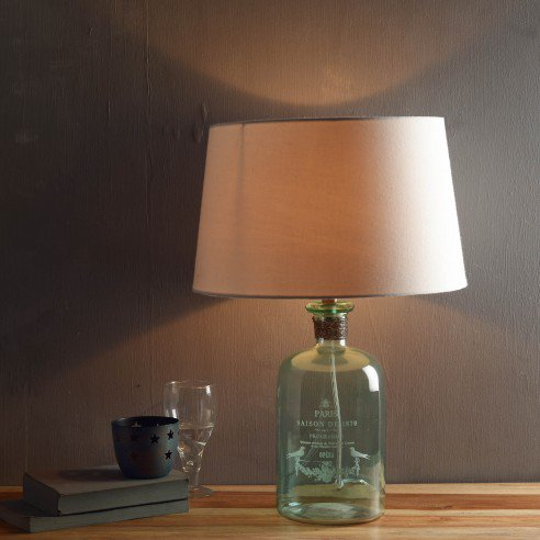 Buy Barry Aqua Table Lamp Online