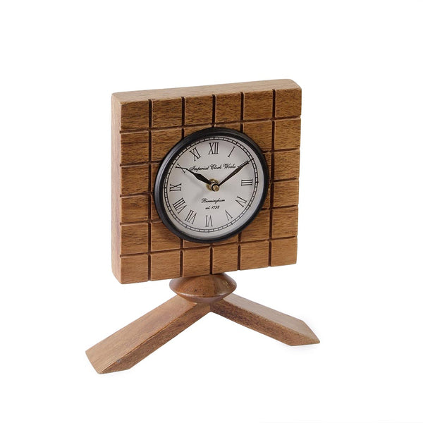 Dorothy 9 Square Table Clock b