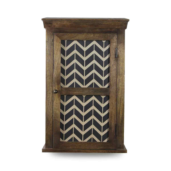 Alba Solid Wood Hand Painted Wall Shelve 2