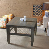 Baroque Smokey Grey Mesh Coffee Table in 2 Sizes