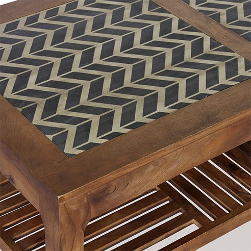 Ashley Maple Rectangular Coffee Table 3