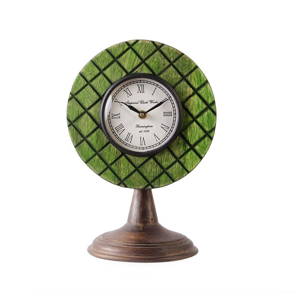 Elmira Wood Green 11 Table Clock a