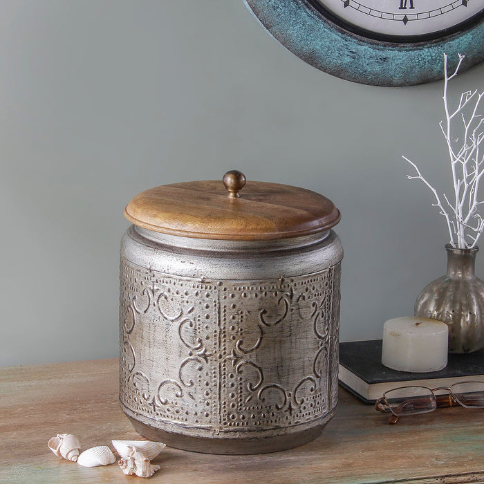 Paulsen Vintage Metallic Brown Storage Box