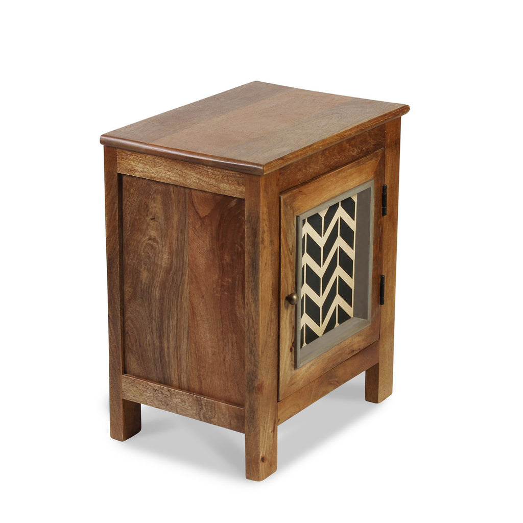 Kylian Solid Wood Bedside Table