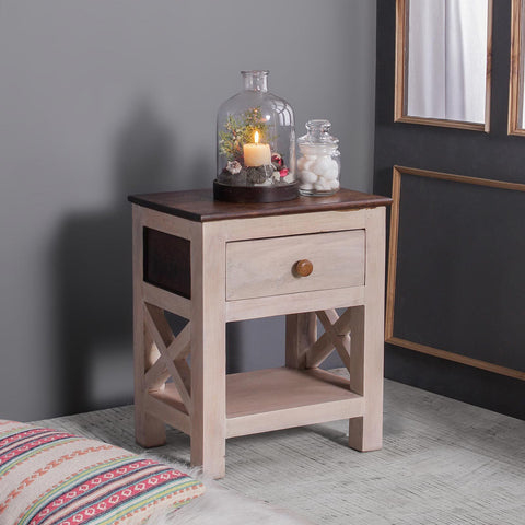 Margot Solid Wood Bedside Table