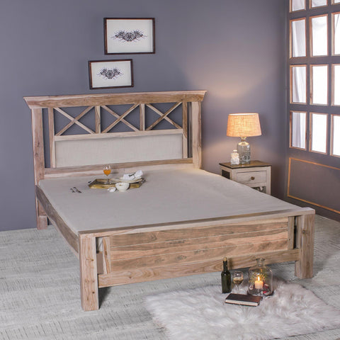Margot Solid Sheesham Wood Bed