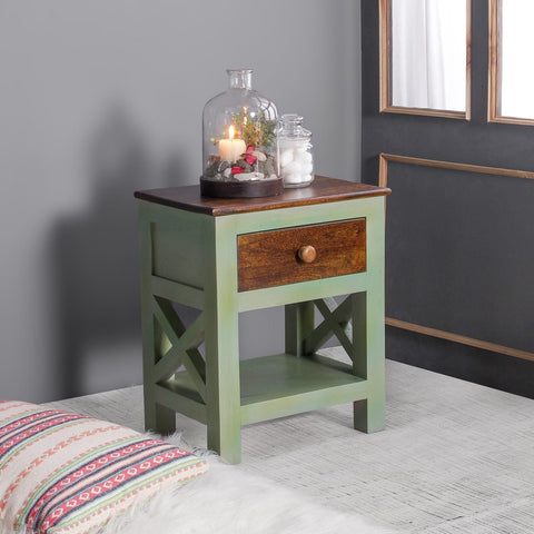 Mavis Solid Wood Bedside Table