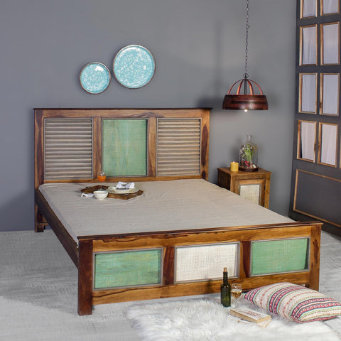 Horace Solid Wood Bed