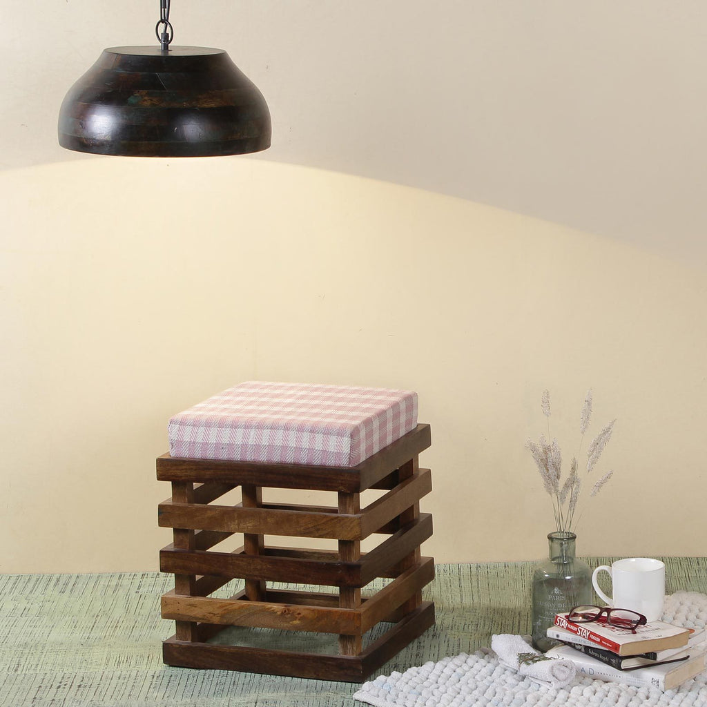 Roxane Solid Wood Stool
