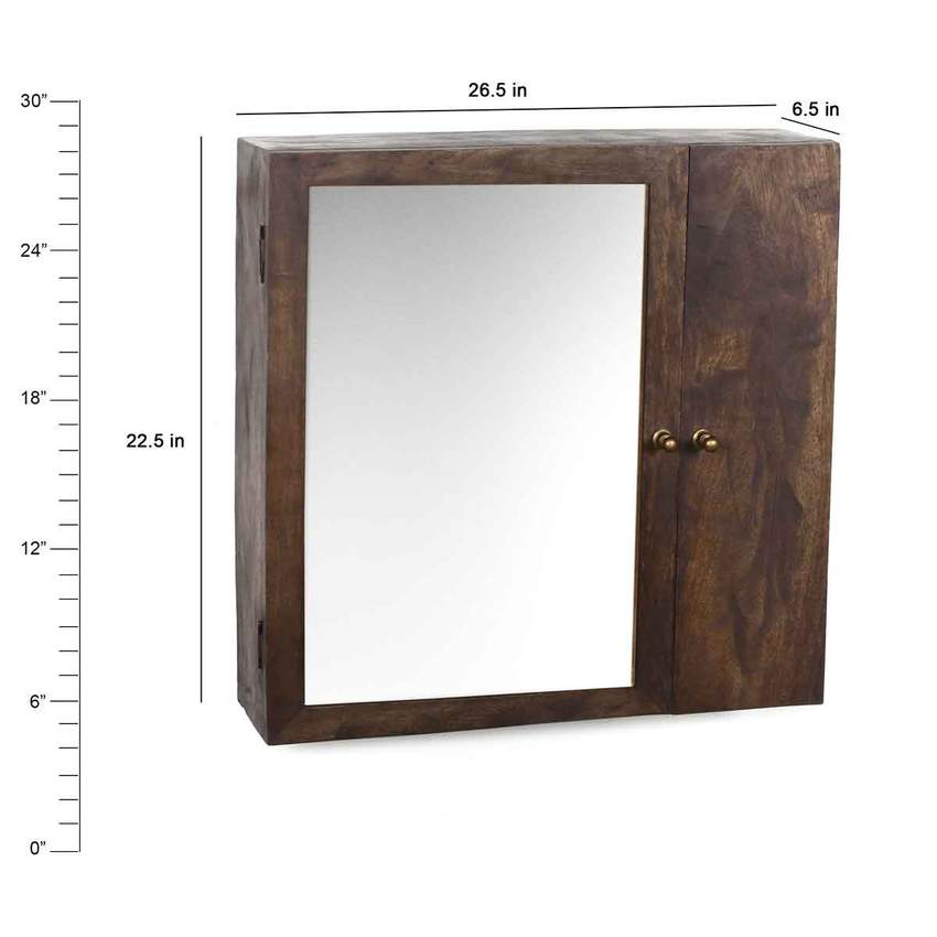 Elba Vintage Wall Mounted Bath Cabinet in 2 Sizes