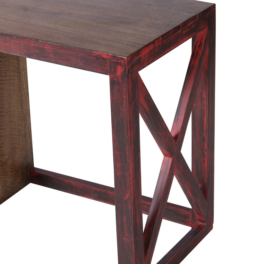 Wood Study Tables with Stool