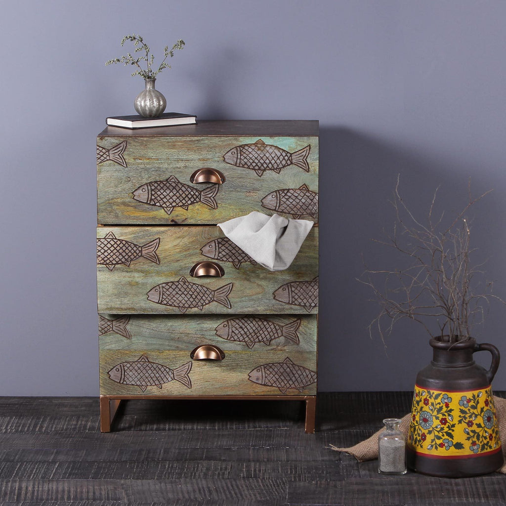 Margot Solid Wood Cabinet