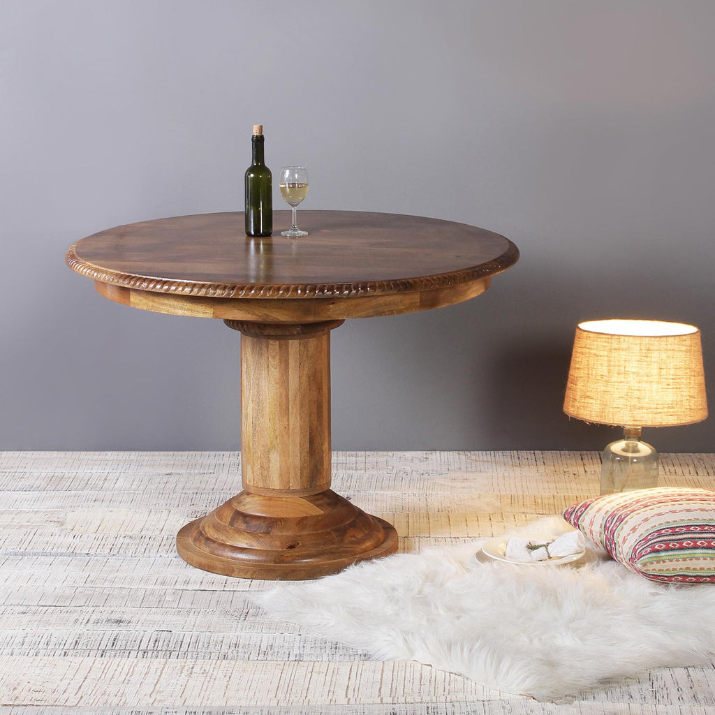 Buy Garance Solid Wood Round Dining Tables set