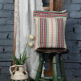 Handwoven Tribal Detailed Cushion Cover