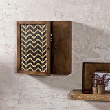 Vintage Solid Wood Wall Mounted Cabinet in 2 Sizes