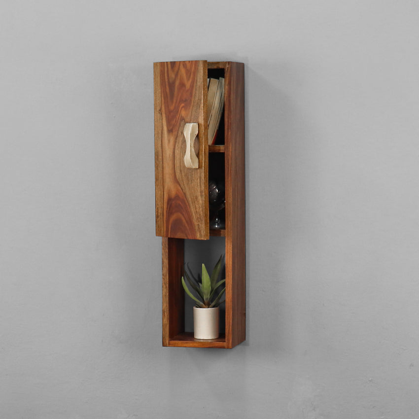 Catnip Solid Wood Wall Shelf