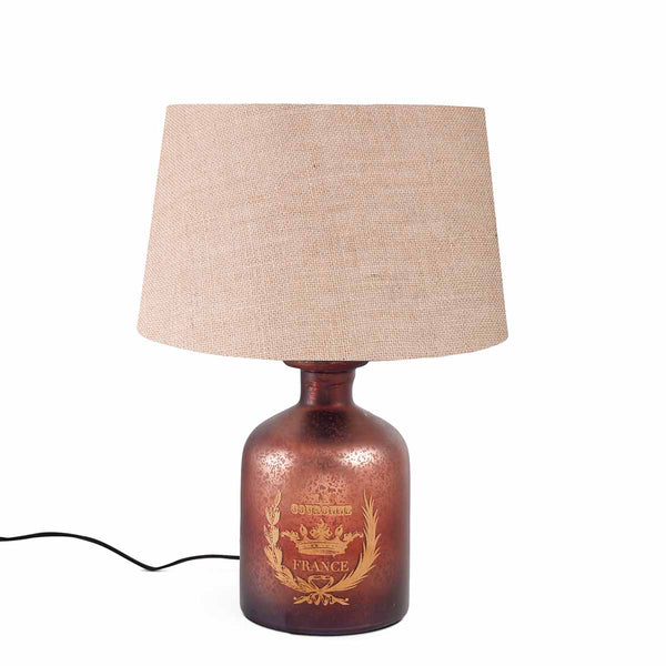 French Vintage Abel Red Table Lamp