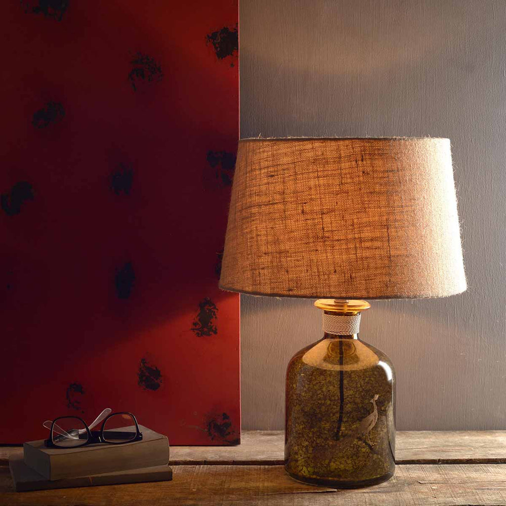 Abel Amber Table Lamps Online in India