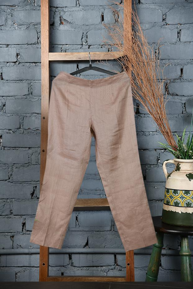 Dusty Pink Linen Pants