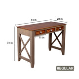 Hank Solid Wood Study Table