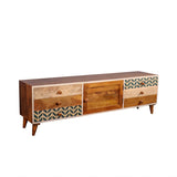 Grace Solid Wood TV Unit