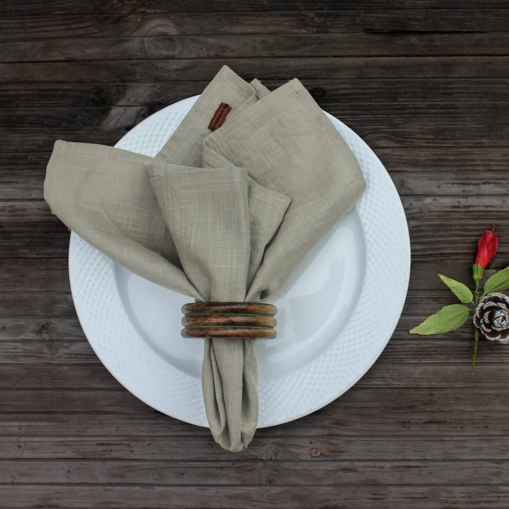 Dusty Cream Napkin Set of 6