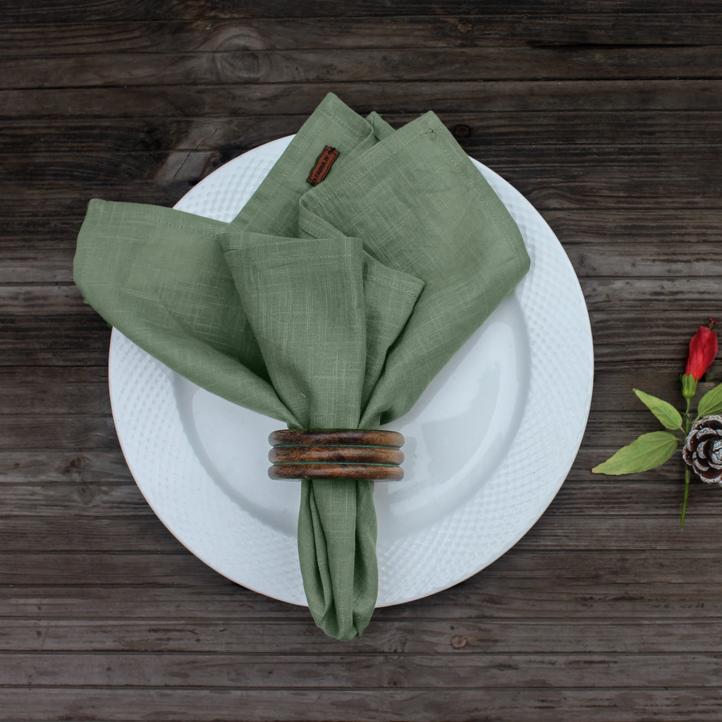 Dusty Green Napkin Set of 6