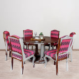 Lawson Solid Wood Six Seater Dining Set
