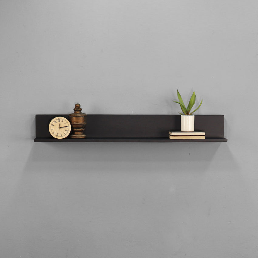 Lily Solid Wood Wall Shelf