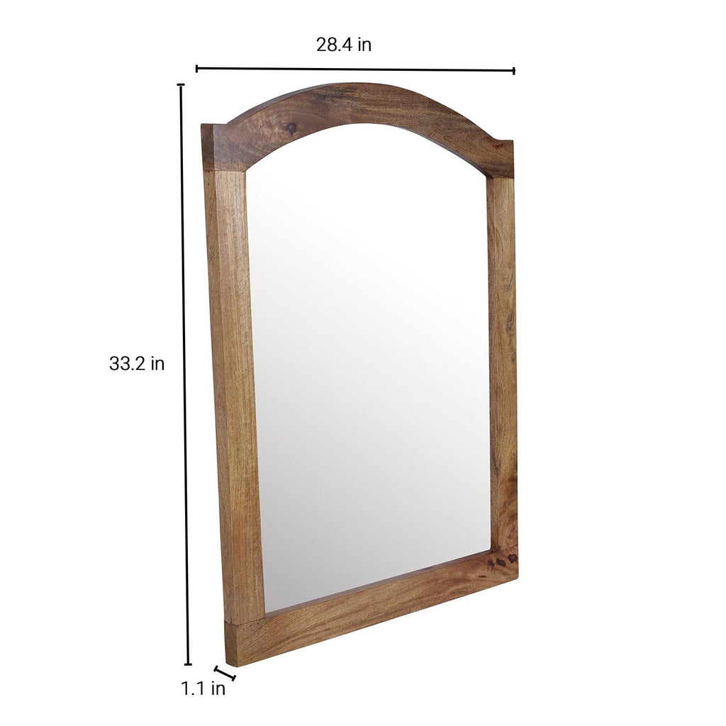 Quentin Solid Wood Mirror