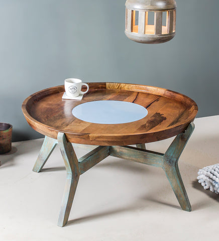 Buy Oleg Vintage Round Coffee Table online