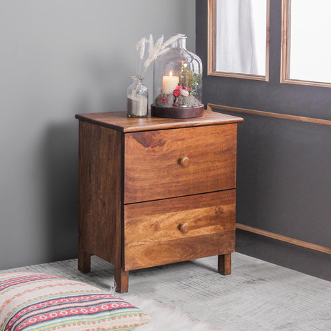 Solid Wood Bedside Tables