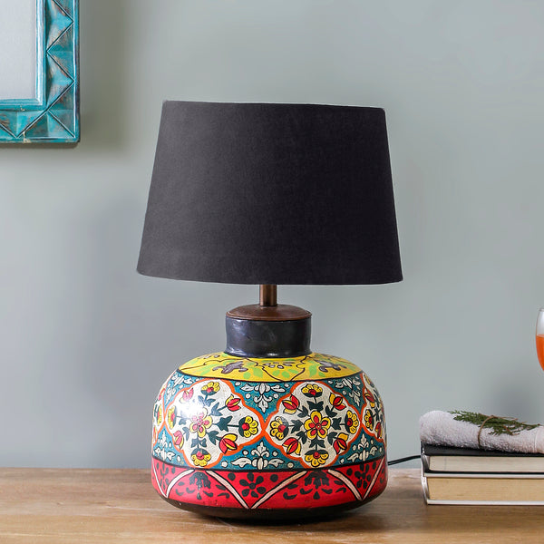 Bluebeard Hand Painted Table Lamp