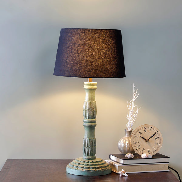 Arwen Antique Green Table Lamp