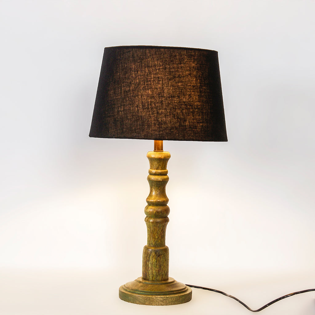 Cordelia Vintage Green Table Lamp