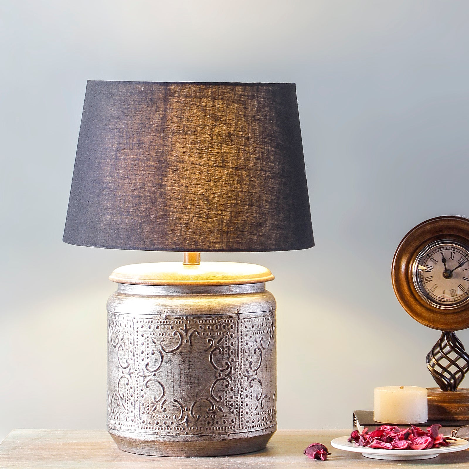 Buy Doolittle Metallic Table Lamp Online