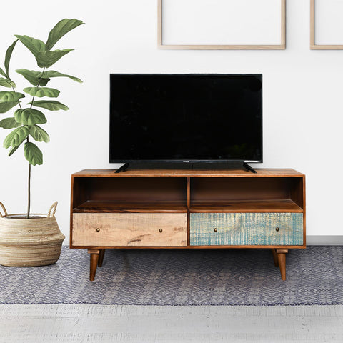 Celestin Solid Wood TV Unit