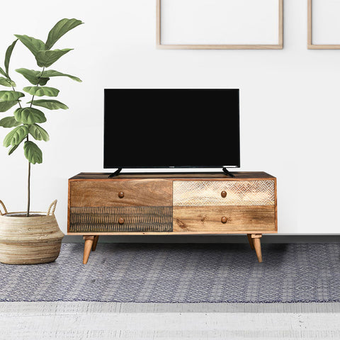 Parker Solid Wood TV Unit
