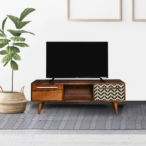 Taarkashi Solid Wood TV Unit