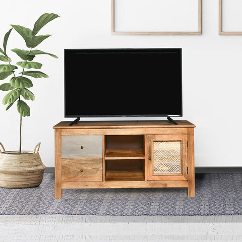 Baltoro Solid Wood TV Unit