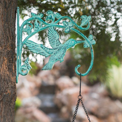 FABULIV Hornbill Wall Brackets (Distress Green)