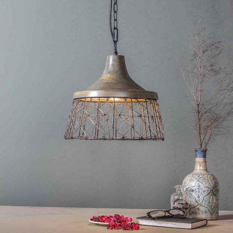 Ashton Grey Pendant Lamp 1