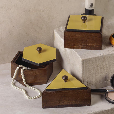 Pepper Delight Wooden Boxes 3 Sizes